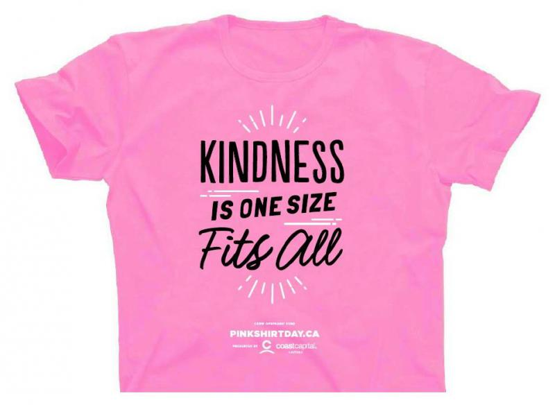 Pink Shirt Day - Kindness is one size fits all! - Covenant House ...